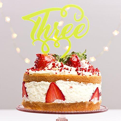 personnalisé Décoration de gâteau REGULAR doré