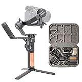 FeiyuTech AK2000S Stabilisateur manuel d'appareil photo reflex numérique avec 3 axes pour Canon 5D Mark Nikon D500 D7500 Sony A9 A7R2 A6500 A7R3 (Version Professionnelle)