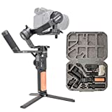FeiyuTech AK2000S - Estabilizador de cámara réflex digital (3 ejes, hasta 2,2 kg, para Canon 5D Mark Nikon D500 D7500 Sony A9 A7R2 A6500 A7R3)