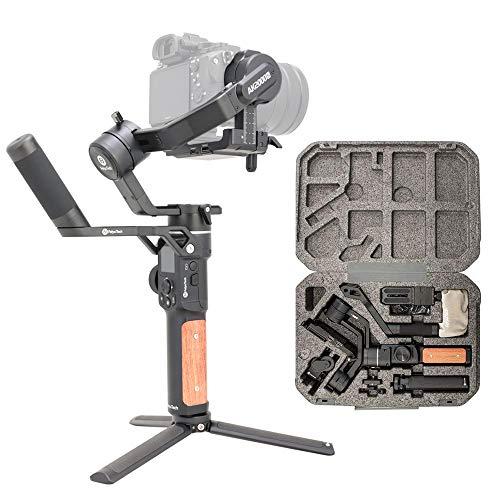 [Ufficiale]FeiyuTech AK2000S-Stabilizzatore per DSLR videocamera portatile, pannello tattile LCD, 3 assi fino a 2,2 kg per Mirrorless Canon Nikon Panasonic(Professionale)