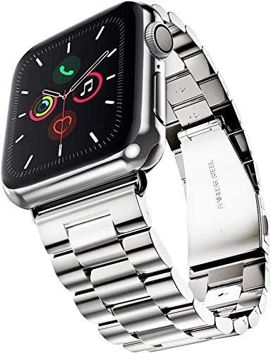 Ersatzarmbänder Watch Armband, Kompatible with Watch Series 6 5 4 3 2 1 se Armband 38 40 mm, Prämie Armband Ersatzband Edelstahl Uhrenarmband Kompatibel mit iWatch Series Alle Modelle