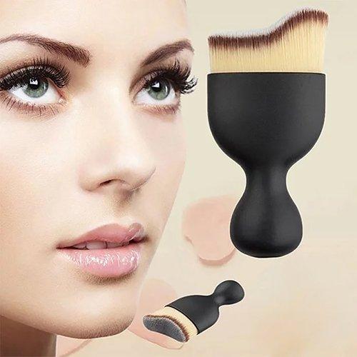 piRAtus8ileV Curved Soft Girl Makeup Oblique Brush Ranking TOP11 Head Finally popular brand Uniform