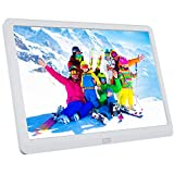 Atatat 10 Inch Digital Photo Frame with 1920x1080 IPS Screen, Digital Picture Frame with 1080P Video, Music, Slideshow, Adjustable Brightness, Auto Rotate, Photo Deletion, Remote