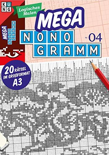 Mega-Nonogramm 04 (Mega Nonogramm Mappe): limitierte Auflage