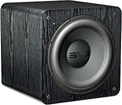 The SVS SB-2000 Subwoofer combines power, quickness, intelligent processing, and innovative driver design to deliver an unrivaled bass experience for music, movies, TV and everything you listen to Dimension: 14.6-Inch H x 14.2-Inch W x 15.4-Inch D Dr...