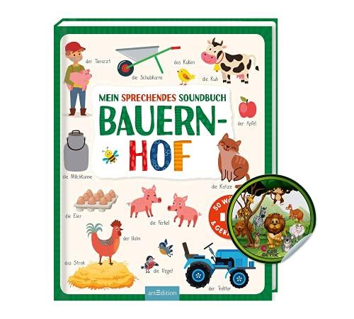 Buchspielbox Diccionario para niños a partir de 2 años, diseño de granja
