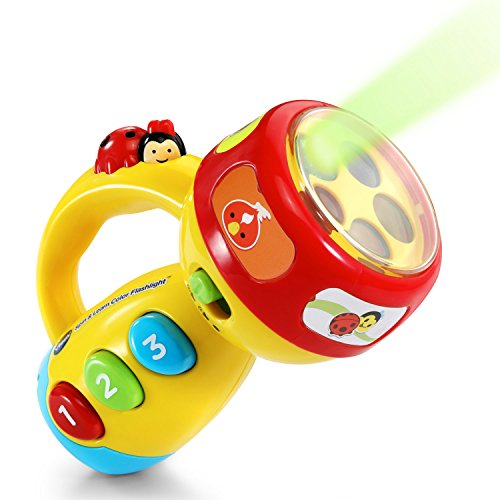 VTech Spin and Learn Color Flashlight, Yellow
