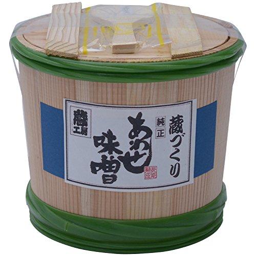 二反田醤油 蔵づくり長期熟成あわせ味噌 木樽入り 2kg