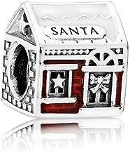 Pandora Charm Bead 792003ENMX Woman Silver House of Santa