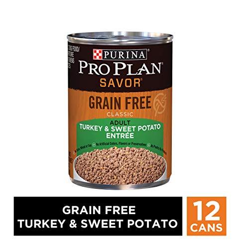 Purina Pro Plan Grain Free Pate Wet Dog Food, SAVOR Grain Free Turkey...