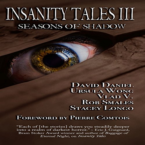 Insanity Tales III: Seasons of Shadow audiobook cover art
