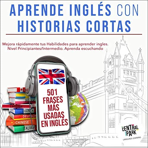 Aprende Ingl s con Historias Cortas 501 Frases m s Usadas en Ingl s Learn English with Short product image