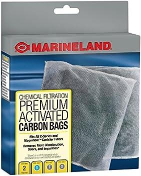 2 Count MarineLand Premium Activated Carbon Bags