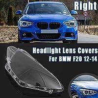 車のヘッドライトヘッドランプクリアレンズオートシェルカバー左/右フィット感のため Fit For BMW F20 2012 2013 2014ヘッドライトレンズカバー ヘッドライトカバー (Color : 1pc RH)
