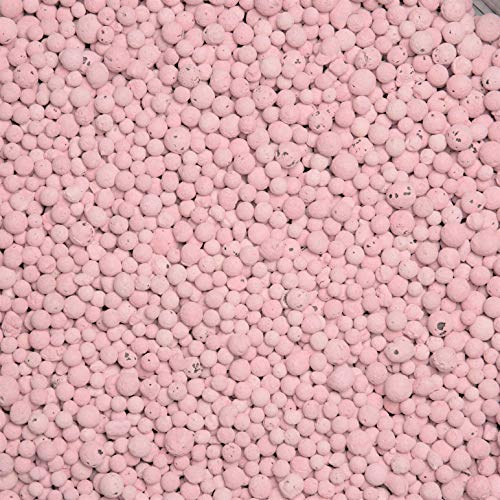 brockytony 4-8 mm. (Pflanzton, Pflanzgranulat, Blähton) 2 Liter. ROSA. BT411Y2