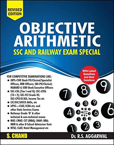 SSC and Railway Exam Special Objective Arithmetic - Includes Latest Questions and their Solutions WITH GK BOOK 2019