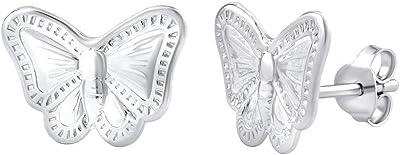 SILVEGO - PRM11402 - Orecchini da Donna in Argento 925 Farfalla