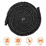 POYINRO Expandable Garden Hose, 25ft Strongest Expanding Garden Hose with Triple Layer Latex