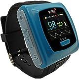 Pulsossimetro PULOX PO-400 saturimetro con il braccialetto e sensore esterno