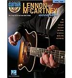 Guitar Play-Along: Volume 123: Lennon & McCartney Acoustic (Hal Leonard Guitar Play-Along) (Paperback) - Common