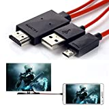 MHL Micro USB to 1080P HDMI TV Cable Adapter for Samsung Galaxy K Zoom SM-C115