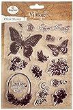 RAYHER HOBBY - Set de 15 Sellos, diseño de Mariposas (57784000)
