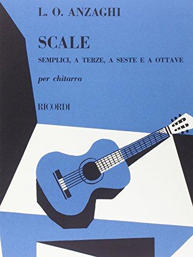 Scale Semplici, A Terze, A Seste E A Ottave