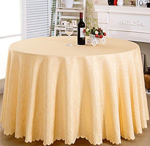 DGF Toile de table en tissu Creative Restaurant Famille Table ronde Diamètre du tissu 300 Cm 320 Cm (multicolore en option) (Couleur : B-2, taille : 320cm)