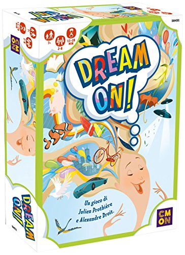 Asmodee Italie Dream on Édition Italienne, 8575 - Version Italienne