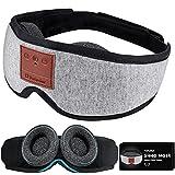 Sleep Headphones Bluetooth Sleep Mask Birthday Gifts, Tufusiur 2021 Adjustable Eye Cups Wireless Music Eye Mask for Sleeping for Side Sleepers, Christmas Gadgets for Women Men for Travel, Meditation