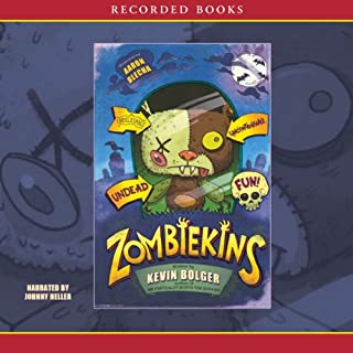Zombiekins audiobook cover art