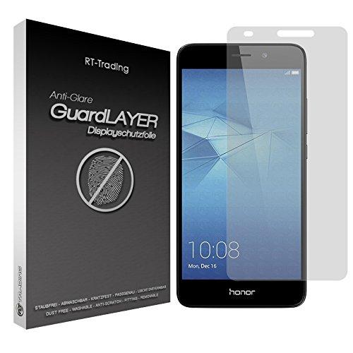 3x Huawei Honor 5C - Bildschirm Schutzfolie Matt Folie Schutz Bildschirm Anti Glare Screen Protector Bildschirmfolie - RT-Trading