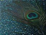 5D círculo completo rhinestone diamante bordado artesanía kit pintura al óleo digital Pavo real de acuario punto de cruz hogar lienzo decoración de pared