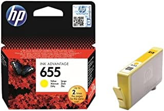 HP 655 Yellow Original Ink Advantage Cartridge - CZ112A