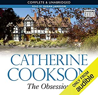 The Obsession audiobook cover art