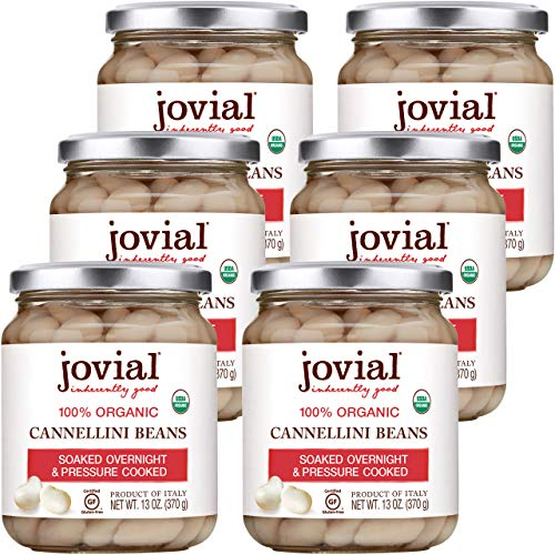 Jovial Beans,Og1,Cannellini 13 Oz (Pack Of 6)