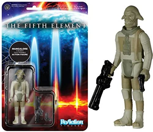 Fifth Element Mangalore ReAction 3 3 4-Inch Retro Action Figure by Fifth Element