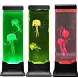 MAGICLITE Electric Fantasy Jellyfish Lava Lamp with Color Changing Light Effects-Jelly Fish Tank Aquarium Night Mood Light for Decoration for Kids Men Women