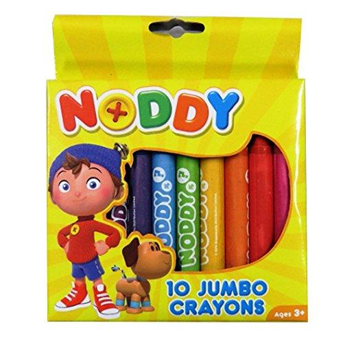 Noddy in Toyland große farbige Buntstifte, Packung mit 10