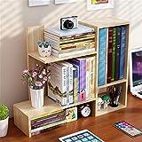 Estantería de escritorio Estantería De Escritorio De Escritorio De Pantalla Storage Manager Plataforma Oficina Cocina Baño Dresser para uso doméstico ( Color : Walnut , Size : 60x17x50cm )
