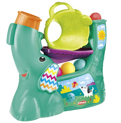 Review Playskool Chase n Go Ball Popper (Teal), Ages 9 months and up (Amazon Exclusive)