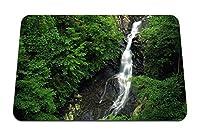 26cmx21cm マウスパッド (滝木石高さ木緑の岩) パターンカスタムの マウスパッド
