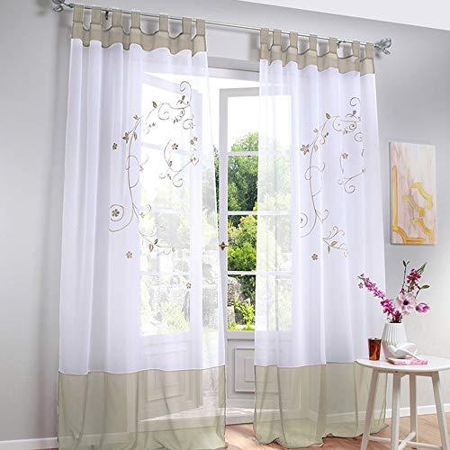 cortinas salon 2 piezas estampado
