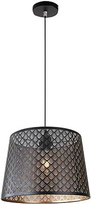 Luxus Pendel Decken Leuchte Schlaf Zimmer Textil Hänge Lampe cappuccino gold