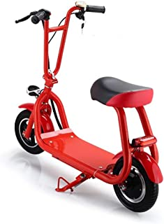 Electric Scooter Little Harley Style Double Wheel Power Lithium Battery Foldable Outdoor Travel Gift for Men and Women (10009008)