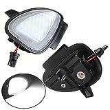 KATUR 2 uds bajo espejo lateral charco 6 luces LED para V W GTI / G olf MK6 6 / MKVI 2010-2014 estilo de coche