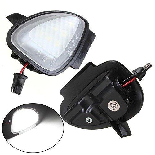 KATUR 2 uds bajo espejo lateral charco 6 luces LED para GTI / G olf MK6 6 / MKVI 2010-2014 estilo de coche