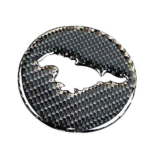 Topker Für Ford Mustang Carbon-Faser-Automobile Auto-Lenkrad-Abdeckungs-Ordnung-Innendekor-Aufkleber Zubehör