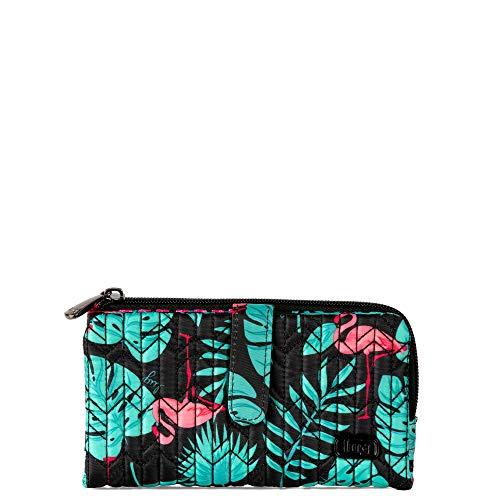 Lug Women's Tram Wallet, Flamingo Black, One Size