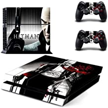 Playstation 4 Skin Set - Hitman HD Printing Vinyl Skin Cover Protective for PS4 Console and 2 PS4 Controller by Mr Wonderful Skin